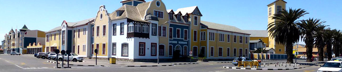 Swakopmund - famous for its German architecture and inspired cuisine, this coastal holiday town also offers desert and ocean adventure activities.